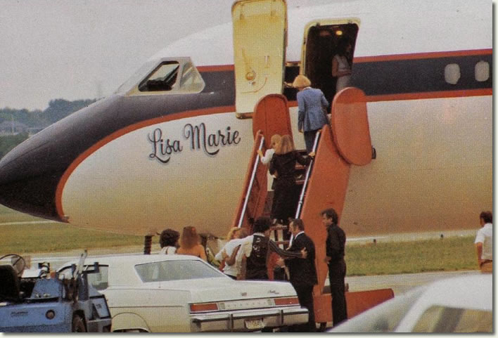 Photos | Elvis Presley' Lisa Marie Convair 880 Jet